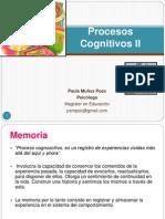 Procesos Cognitivos II (SOLEMNE Nº1)