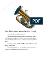 Tuba and Euph lessons