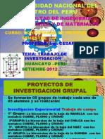 TRABAJO DE INVESTIGACIÓN 2012-I