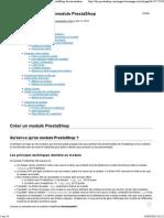 Créer un module PrestaShop - PrestaShop 1.pdf