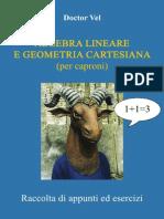 Algebra Lineare e Geometria Cartesiana - Per caproni.pdf