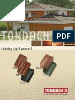 Catalog Tondach Țiglă Presată