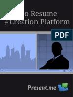 Video CV PDF