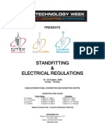 GITEX 2009- Stand Fitting & Electrical Regulations Manual