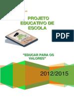 Projeto Educativo 2012 2015
