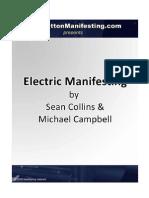 Electric Manifesting Book