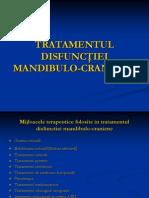 TRATAMENTUL DISFUNCTIEI MANDIBULO-CRANIENE.ppt