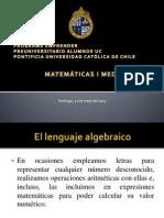 ppt matematicas 1ro medio