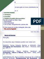 PPT - Objetivos Da Macroeconomia