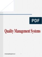 Quality Management Systems in Pharma