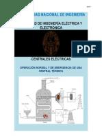 OPERACIÓN DE UNA CENTRAL TÉRMICA
