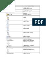 Iconos Apariencia y Formato Del Texto