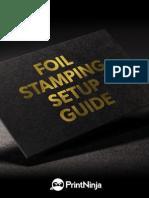 Foil Stamping File Setup Guide