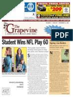 The Grapevine, November 13, 2013