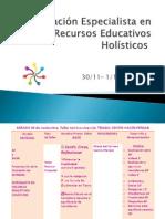 Formación Especialista en Recursos Educativos Holísticos 30-11