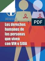 1 Cartilla DH Personas Viven VIH Sida