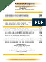 Lista Technodepot Marzo 2013