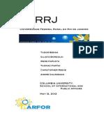 UFRRJ Final Report
