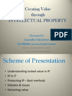 IP Value & Patenting'13
