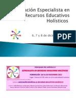 Formación Especialista en Recursos Educativos Holísticos 6-12