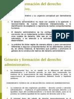 2. génesis y formación del derecho administrativo