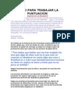 Texto Para Trabajar La Puntuacio1