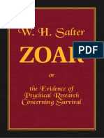 Zoar or the Evidence of Psychical Research Concerning Survival by W H Salter
