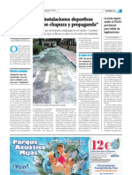 Denuncia de OSP La Tribuna de Marbella