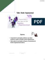 Taller 2_Diseño organizacional