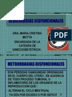2010-Hemorragias Disfuncionales e Hiperplasia Endometrial