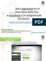 Pasos Para Registrarse e Inscribirse en Sofia Plus