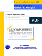 Correction Francais Adjoint Administratif