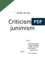 Criticismul junimist.doc