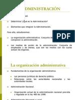 7. fundamentos de la organización administrativa