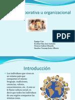Cultura Corporativa u Organizacional