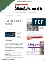 LE VIE DEI TESORI VII EDIZIONE » www.palermoviva.pdf