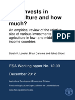 Who invests in agriculture and how much.pdf