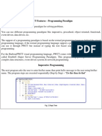 Programming Without Coding Technology (PWCT) - Programming Paradigm