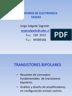Transistores Bipolares Primera Parte (1)