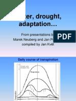 Water Drought Adaptation