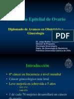 Carcinoma Epitelial de Ovario. Dr. Brañez