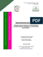 DESAPARICIÓN DE PODERES