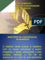 Treinamento Conservação Membros