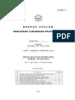 Cover Untuk Pengajuan Tunjangan Sertifikasi_WARNA PINK.doc