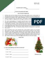 2010 - 2011 Fall Elementary PQ7 (Reading)