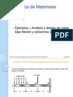 Unidad III - Flexion Pura y Deformacion en Materiales Compuestos