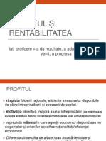 Profitul si Rentabilitatea.pdf