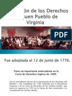 Declaración de los Derechos del Buen Pueblo de Virginia