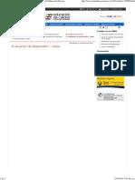 Evaluación de desempeño - Ceres - ..  Ministerio de Educación Nacional de Colombia  .