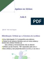 Aula 6 Alquinos PDF JoseAugusto